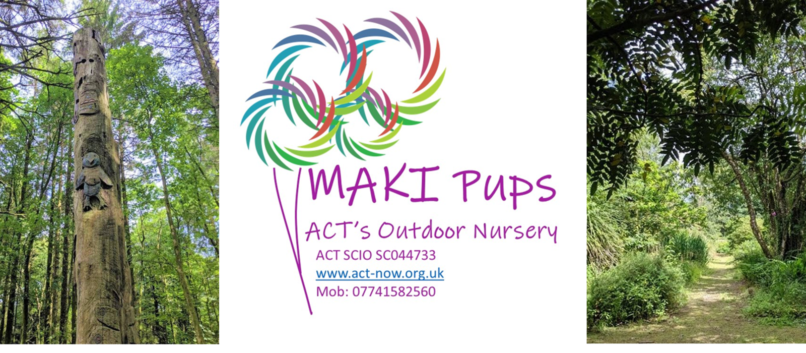 MAKI pups - ACT and Mid Argyll's first outdoor nursery