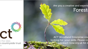 Vacancy - Woodland Enterprise Co-ordinator